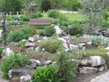 Fischinger Kräutergarten mit Barfusspfad und Wassertretanlagen