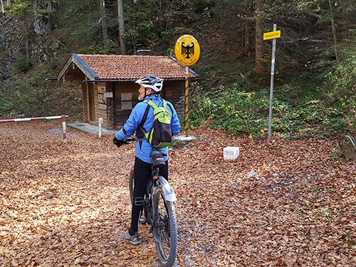 Landesgrenze Fürstenweg