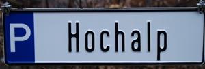 Parkplatz Ferienwohnung Hochalp