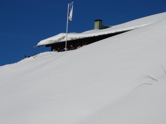 Letzter Anstieg vor der Hütte