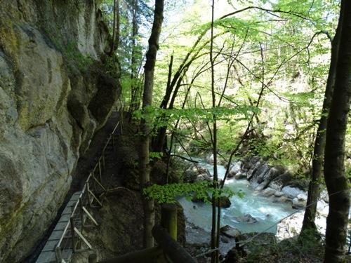 treppauf treppab  Wasserwanderweg