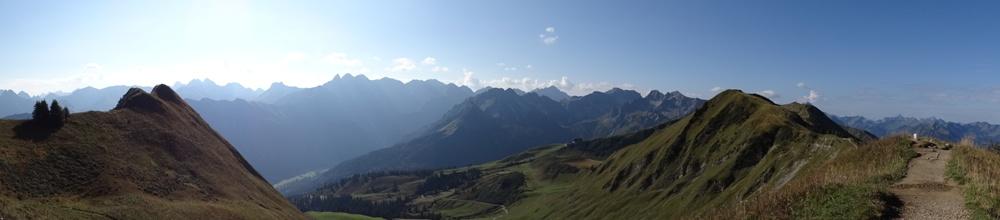 Vom Fellhorn zum Söllereck über den Grat