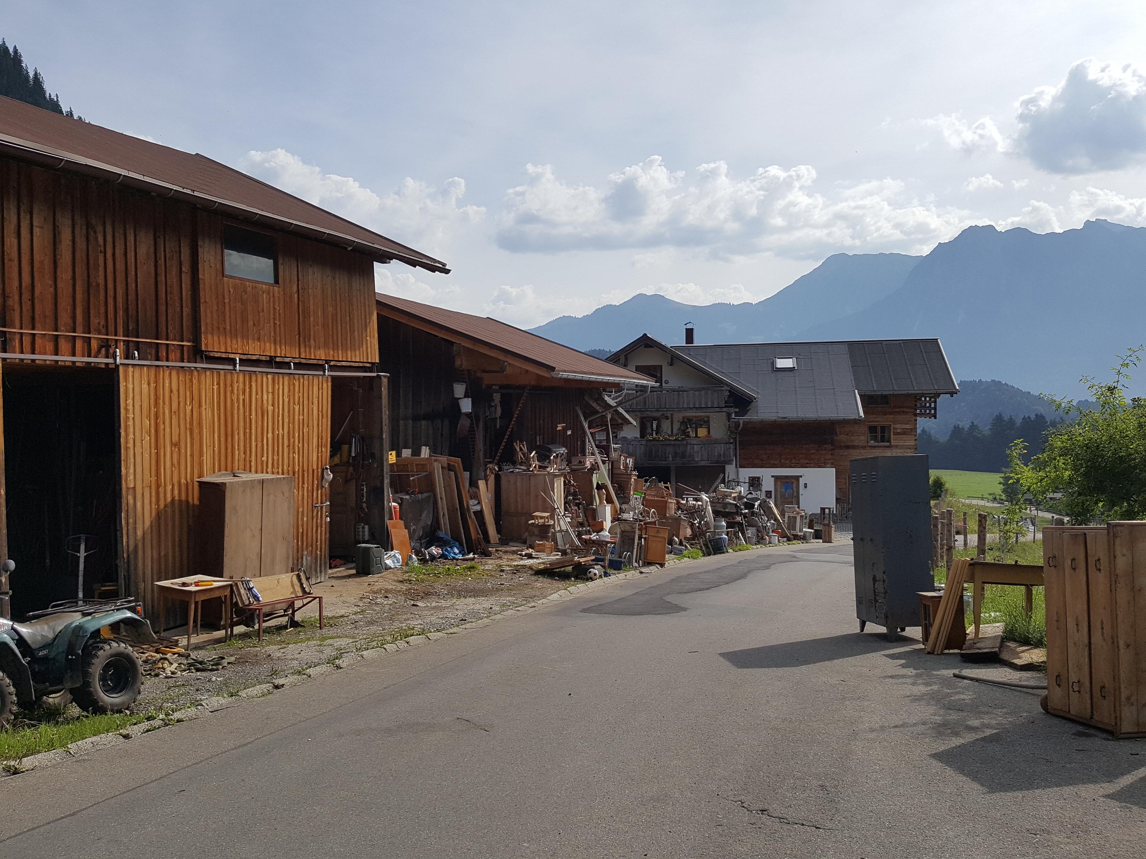Tiefenbach Mautstation Rohrmoos