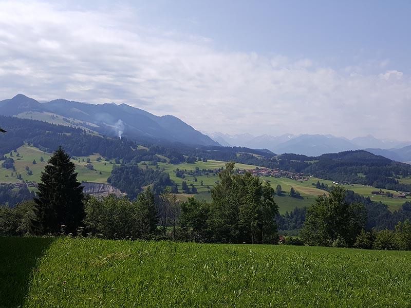 Blick hinüber nach Imberg