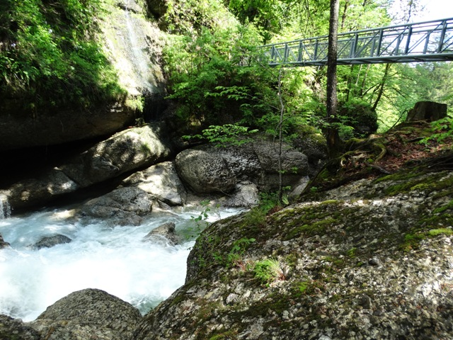 Gumpen und Brücke Haldentobel