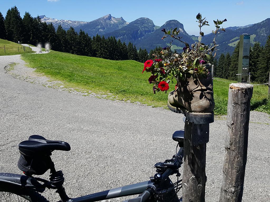 Rückblick Weg Riezlern-Söllereck