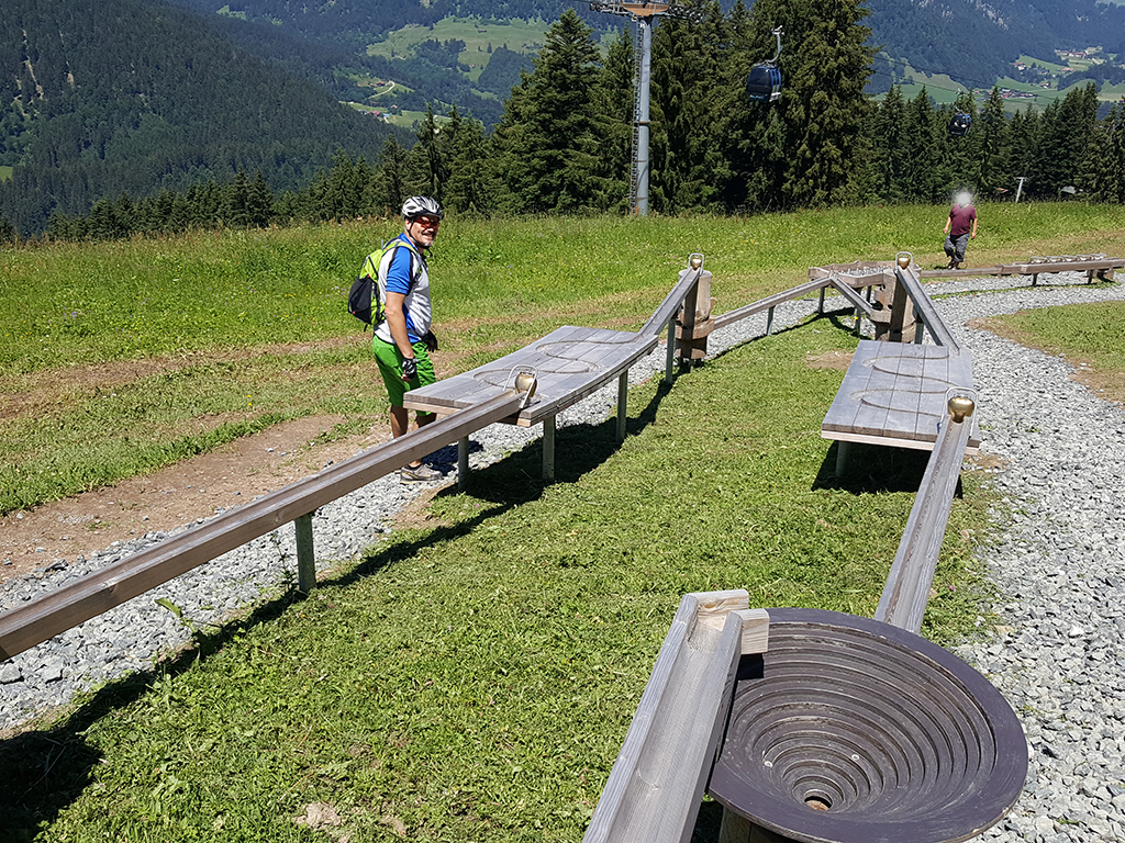 Kugelrennen am Söllereck