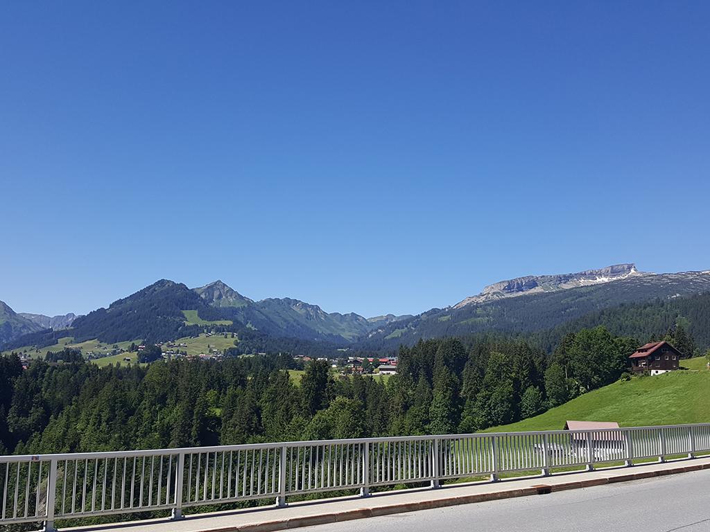 Auf der Schwendebrücke