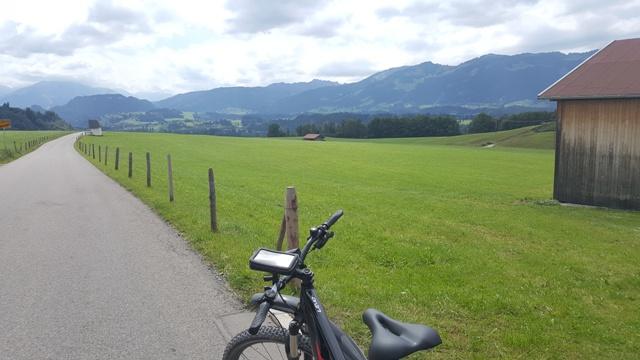 Blick von Beilenberg auf die Hörnerkette