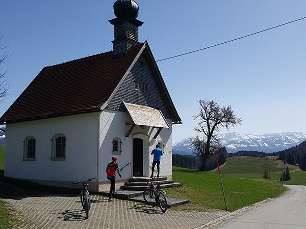 Marienkapelle in Obereinharz - E-Bike-Stopp mit Ausblick