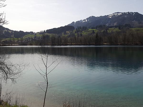 Ortwanger Baggersee bei Sonthofen