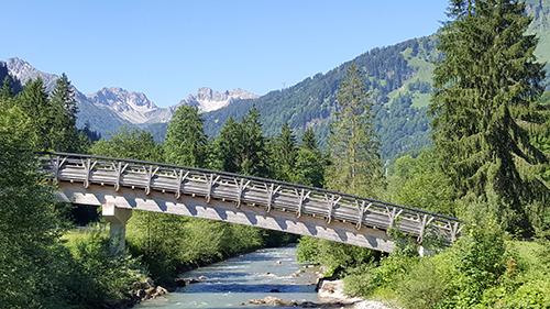 Stillach Brücke