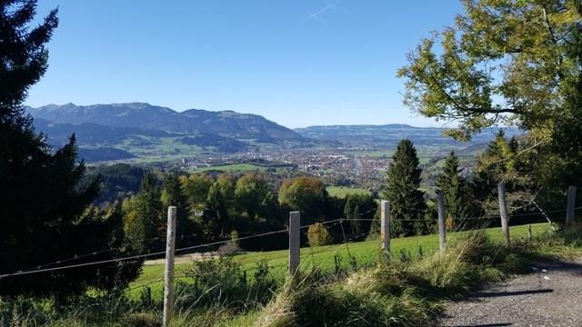 Abfahrt Richtung Imberg