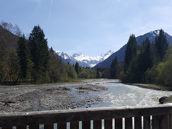 Frühjahr im Trettachtal bei Oberstdorf