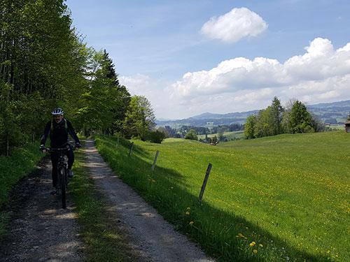 Alte Salzstraße bei Rottach