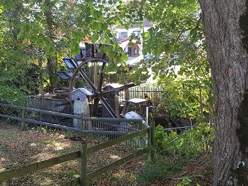 Mühlenrad Bläsismühle