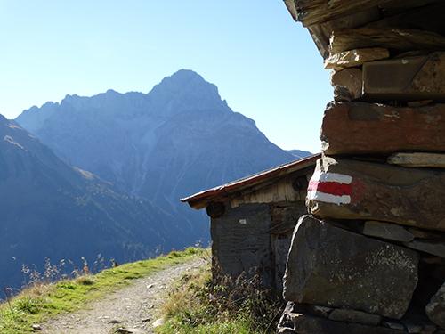 Panoramweg Richtung Innerer Stiefhof