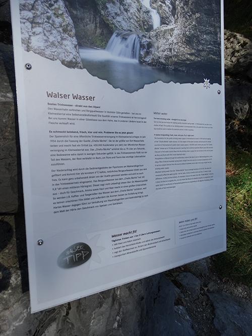 Walser Wasser